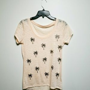 Express Palm Tree Short Sleeve